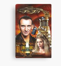 Christopher Ecclestone the 9th Doctor Canvas Print