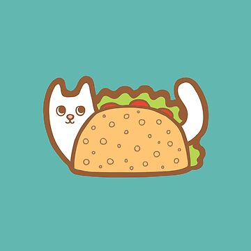 White Cat Taco by evannave