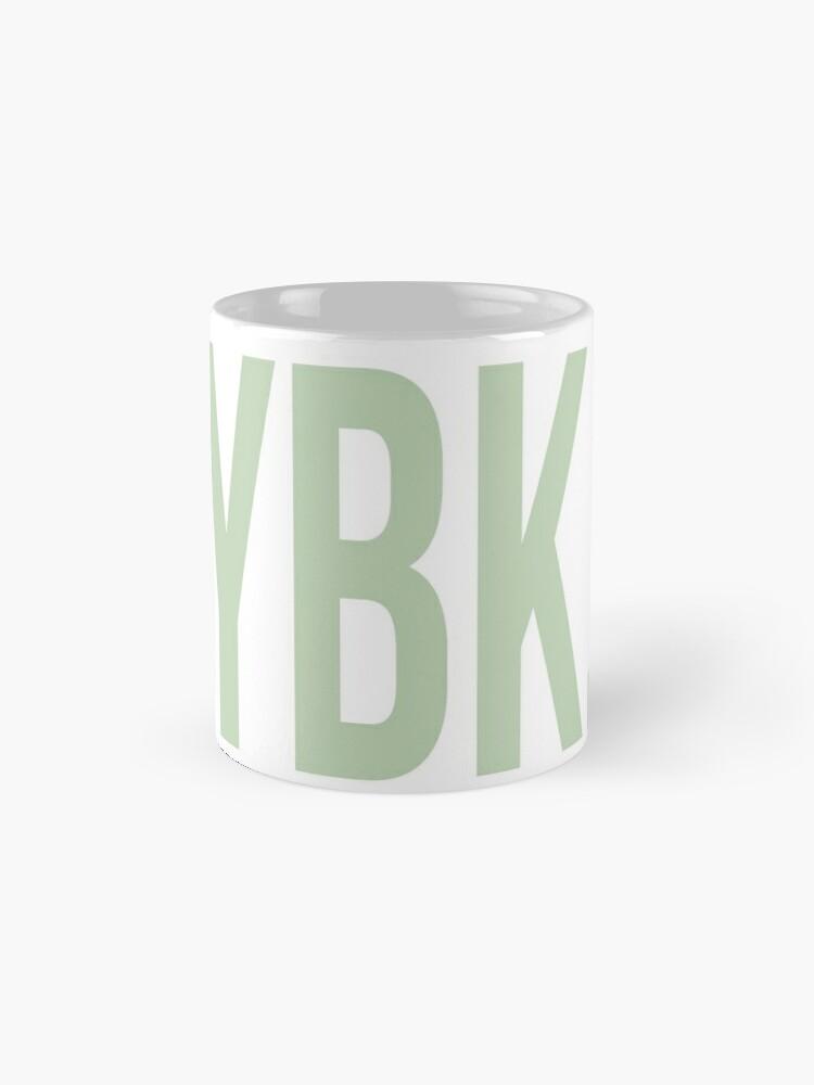 Alternative Ansicht von YBK-Jahrbuch Grün Tasse