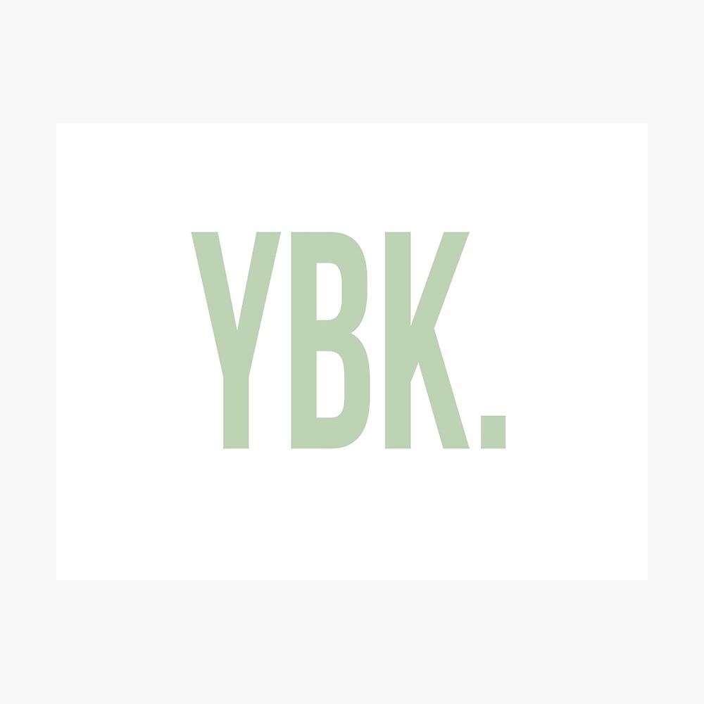 YBK-Jahrbuch Grün Fotodruck