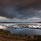 Titicaca Lake Sunset by Marco Vegni