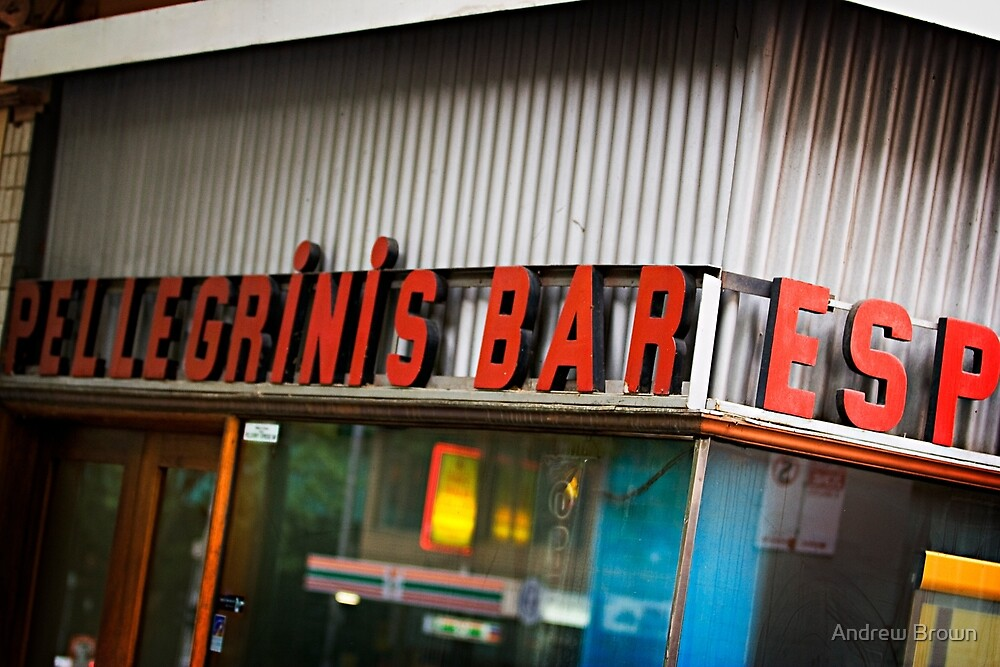 A Melbourne Institution by Andrew Brown
