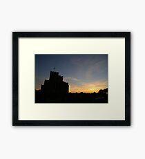 Breedon on the Hill Church Sunset Framed Print