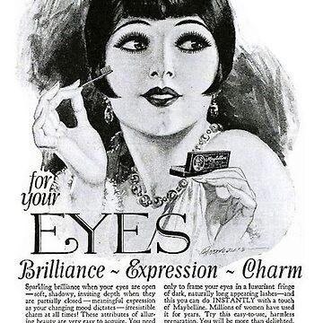 Vintage Make-up-Anzeige von laurens-doodles