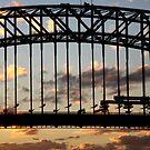 Sunset Bridge by HeatherEllis