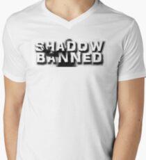 Shadow Banned Men's V-Neck T-Shirt