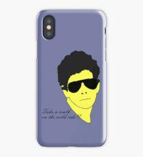 Lou Reed iPhone Case/Skin