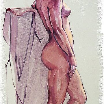 Female nude standing. by rozmcq