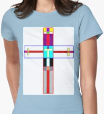Crosses Women's Fitted T-Shirt