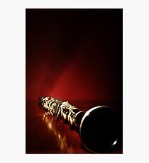 Clarinet Photographic Print