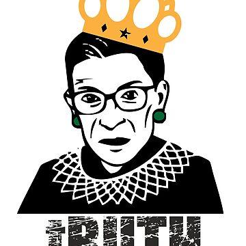 RBG Ruth Ginsburg Supreme Court Feminist by jcmeneses