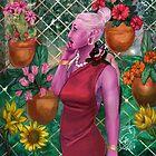 Flower Fence by claudiaaloisia