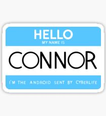 Hello, my name is Connor Sticker