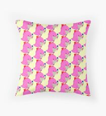 Guild Wars 2- Pink Quaggan  Throw Pillow