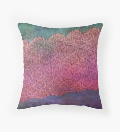 Bruised Clouds Throw Pillow