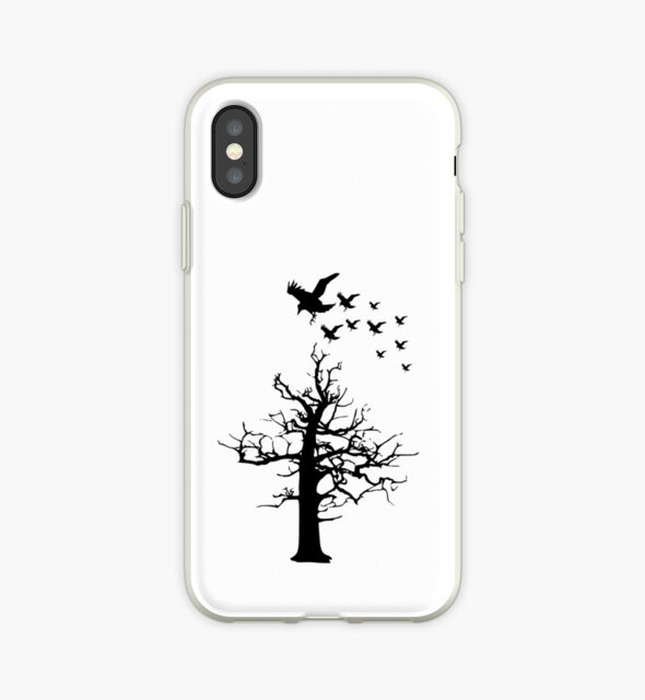 Tree with Birds by Ahlam  Alharthi