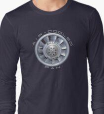 Air Cooled Fan  Long Sleeve T-Shirt