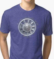 Air Cooled Fan  Tri-blend T-Shirt