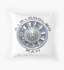 Air Cooled Fan  Throw Pillow