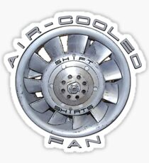 Air Cooled Fan  Sticker