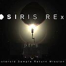 OSIRIS-REx and Bennu backlit by Ray Cassel