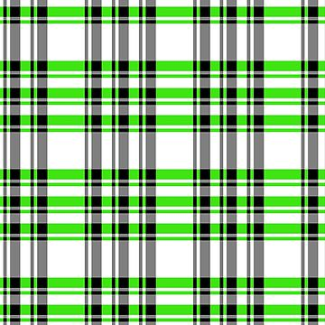 Tartan 7252 Green by IMPACTEES