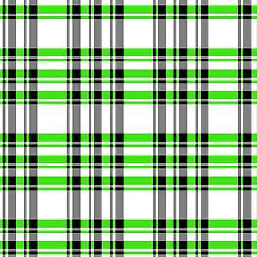 Tartan 7252 Green by IMPACTEES