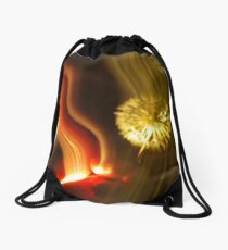 A blur Drawstring Bag