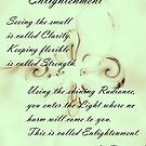 Enlightenment by kimie