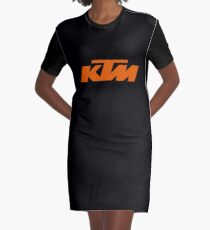 ktm motocross Graphic T-Shirt Dress