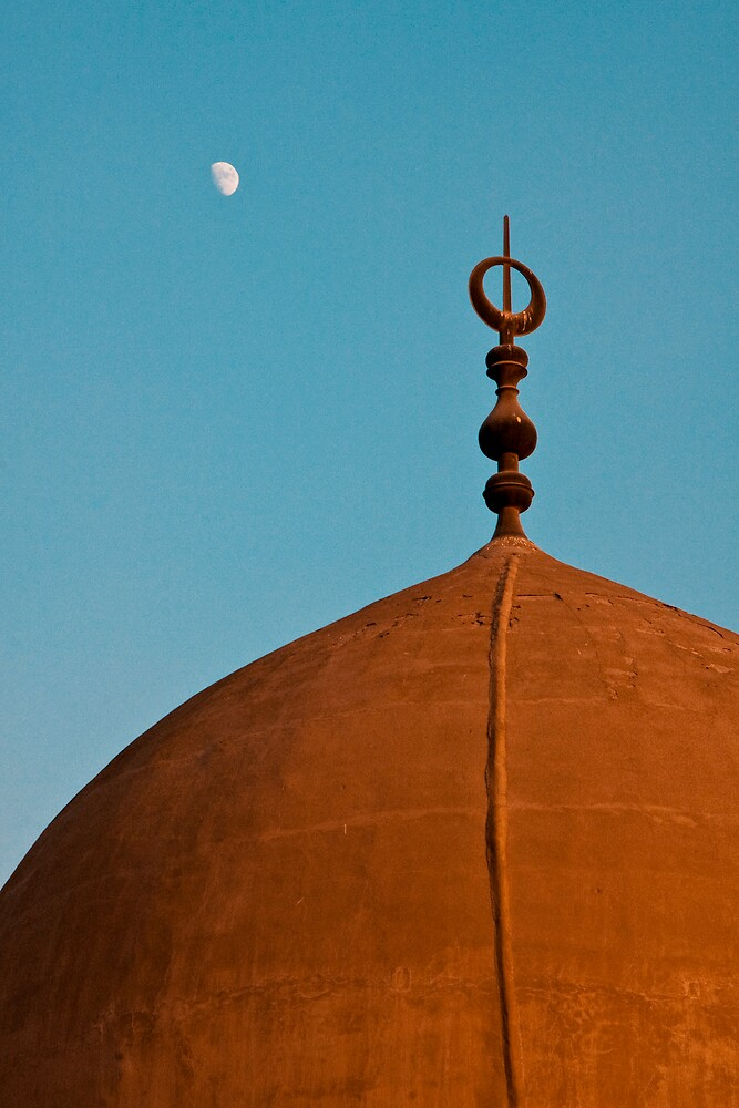 Moon and Mosque by Andre Roberts