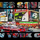 Times Square New York City (widescreen) by Ray Warren