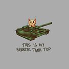 This is My Favorite Tank Top by ardenrachelart