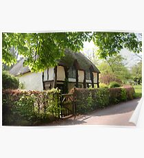country cockington cottage Poster