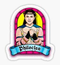 head over heels philoclea Sticker