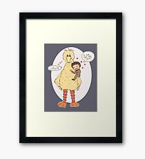 Romney Loves BigBird Framed Print