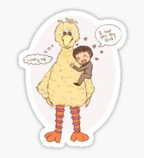 Romney Loves BigBird Sticker