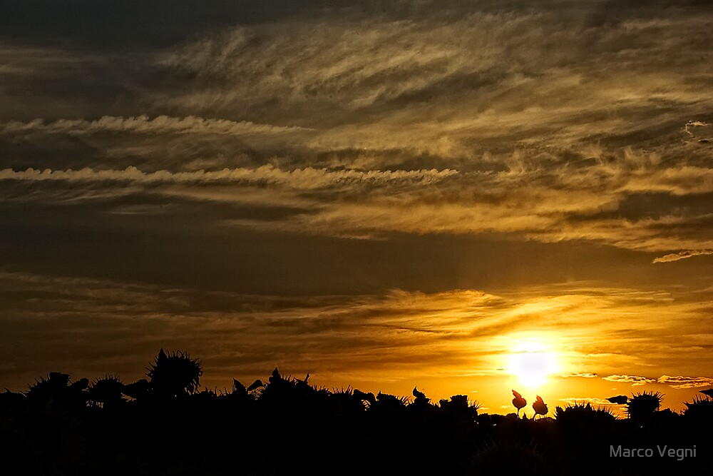Tuscany Sunset by Marco Vegni