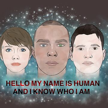My Name Is Human by retr0babe