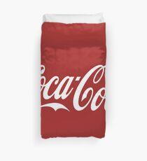 Coca-Cola-Logo Bettbezug