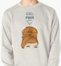 Mädchen macht Sweatshirt