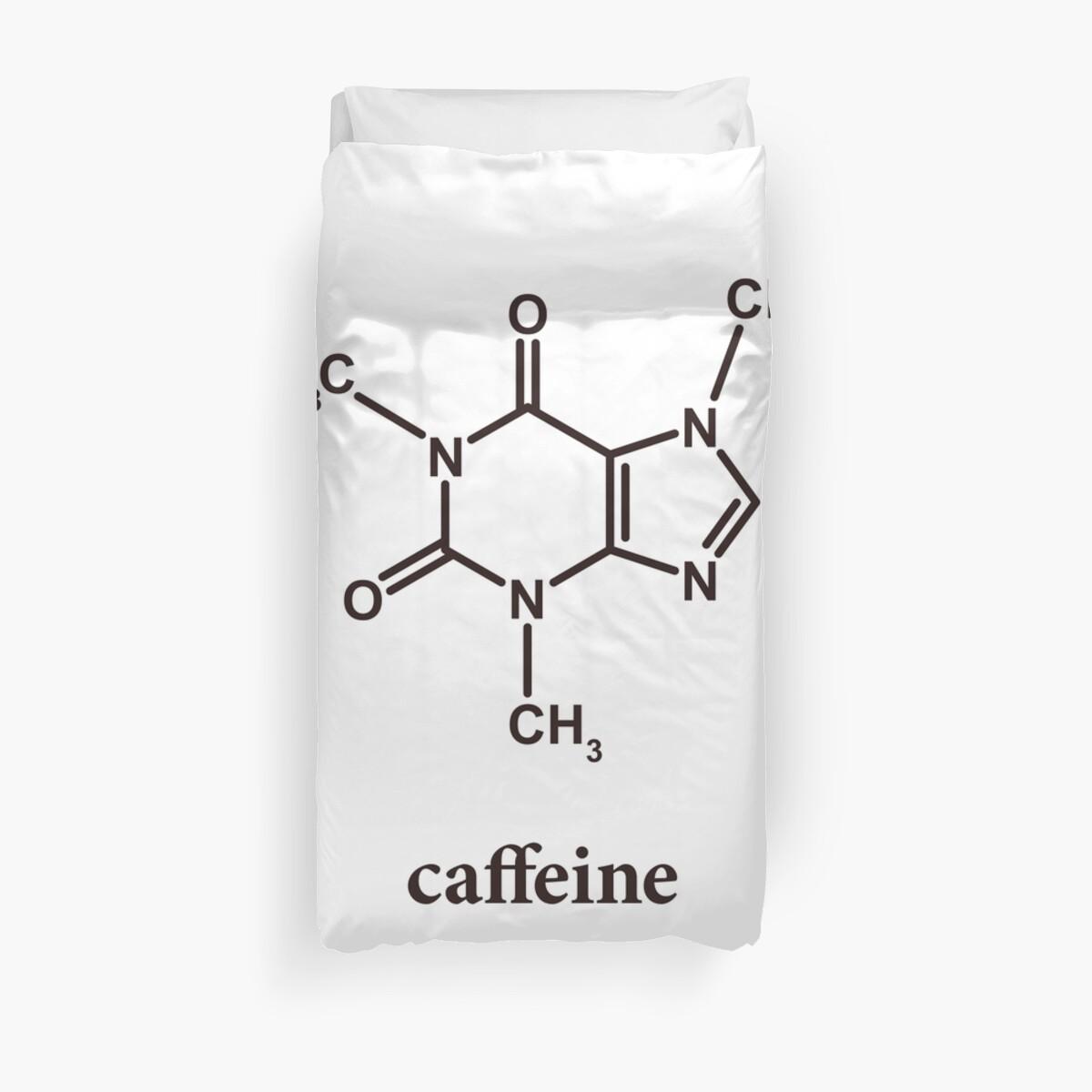 Koffein-Molekül von Anny Arden