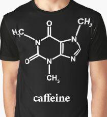 Koffein-Molekül Grafik T-Shirt