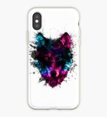Painted Villalobos Wolf Artwork iPhone Case