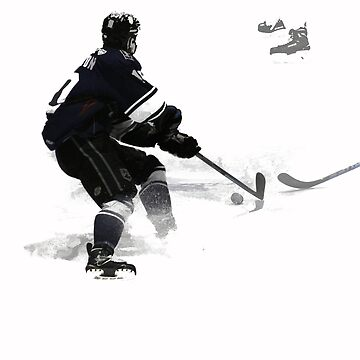 The Deke - Hockey Player by NaturePrints