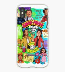 Andaz Apna Apna doodle mashup - Inkt India iPhone Case