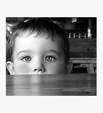 Shy... Photographic Print