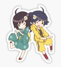Monogatari – Fire Sisters Sticker
