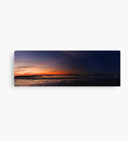 Fade To Black  Canvas Print
