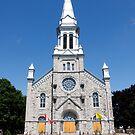 St. Columban's Parish Church, Cornwall, Ontario. 1899. by Mike Oxley